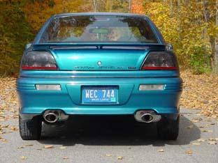 GA GT с двойным выхлопом и тюнинговой оптикой